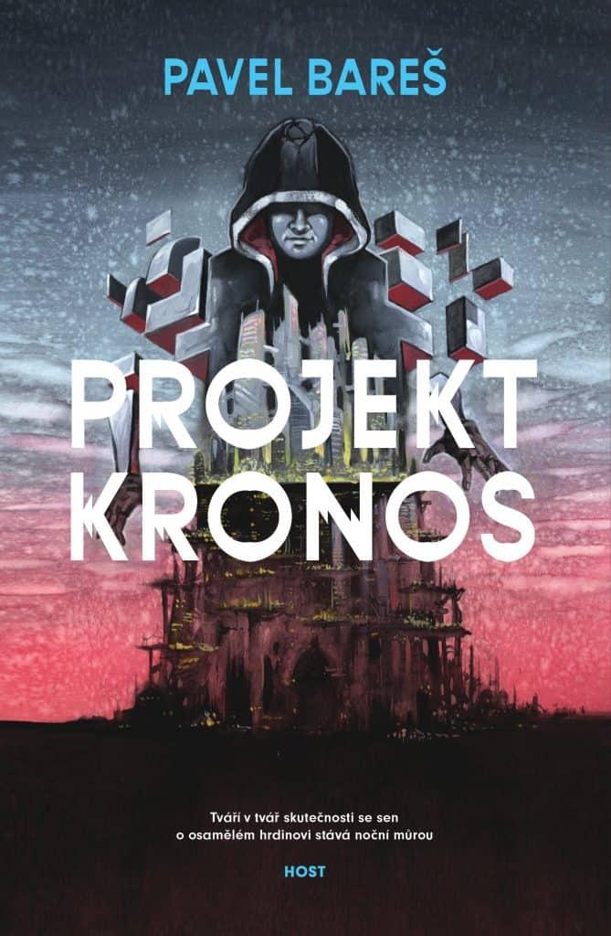 obal knihy - BAREŠ, Pavel. Projekt Kronos.
