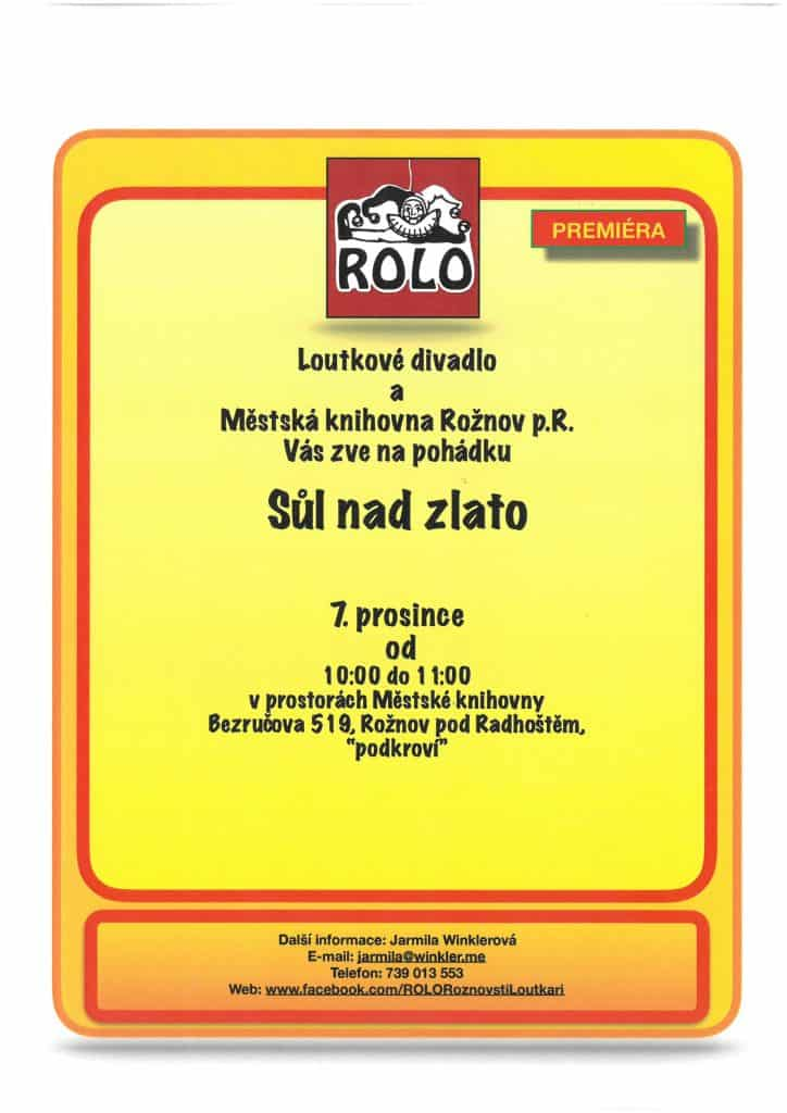 ROLO – Sůl nad zlato