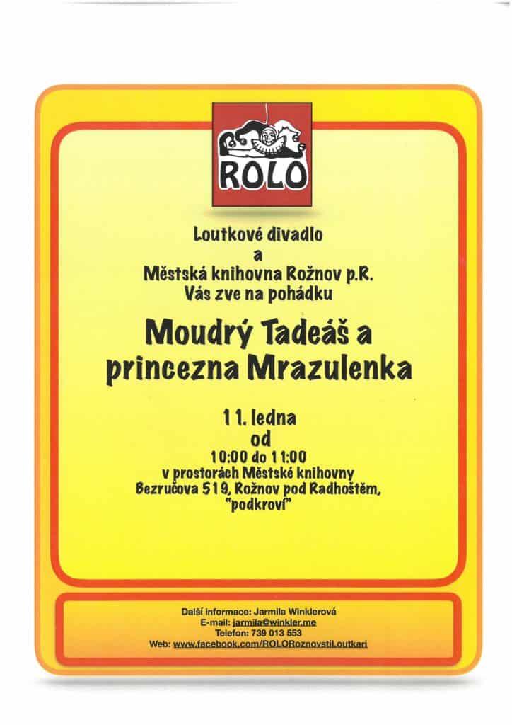 ROLO – Moudrý Tadeáš a princezna Mrazulenka
