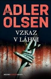 obal knihy - ADLER-OLSEN, Jussi. Vzkaz v láhvi.