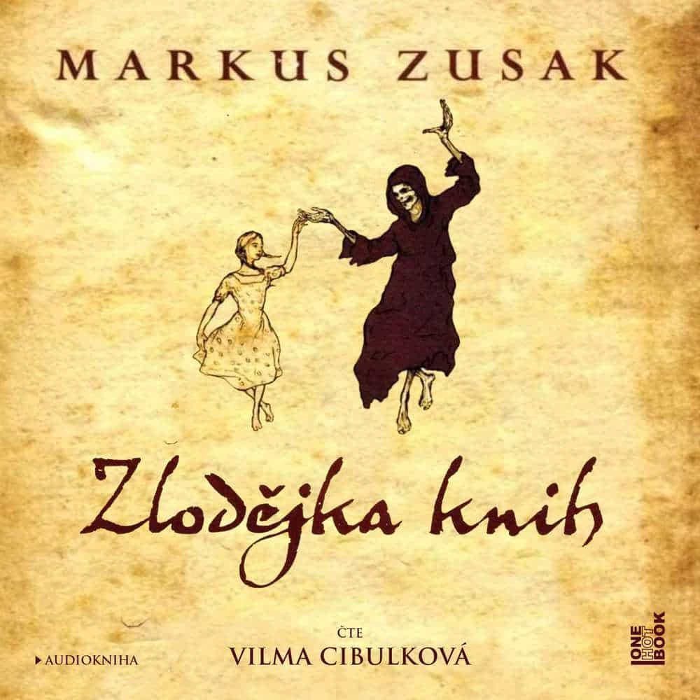 obal knihy - ZUSAK, Markus. Zlodějka knih.