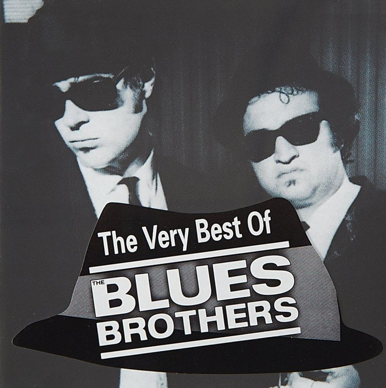 obal knihy - The Very Best of Blues Brothers.