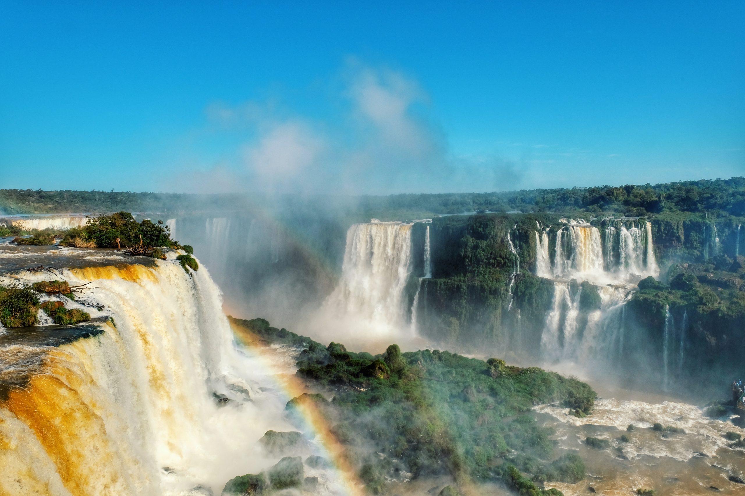 JIŽNÍ AMERIKA BRAZÍLIE (Vodopády Iguazu)
