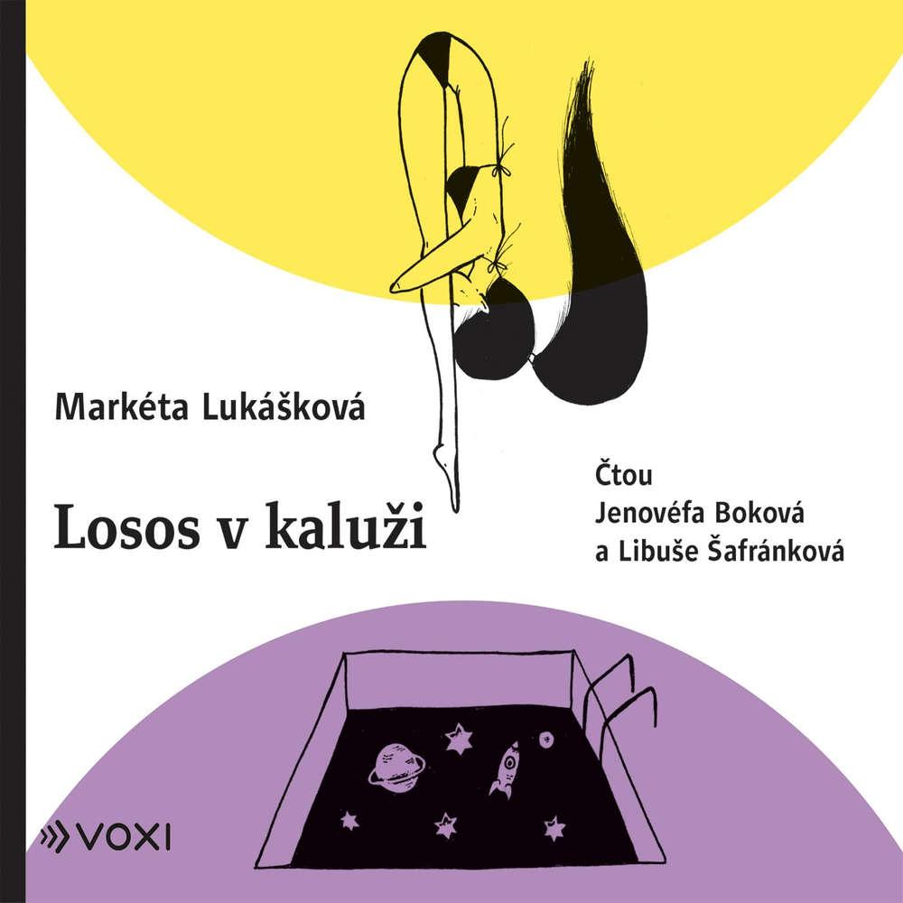 obal knihy - LUKÁŠKOVÁ, Markéta. Losos v kaluži.