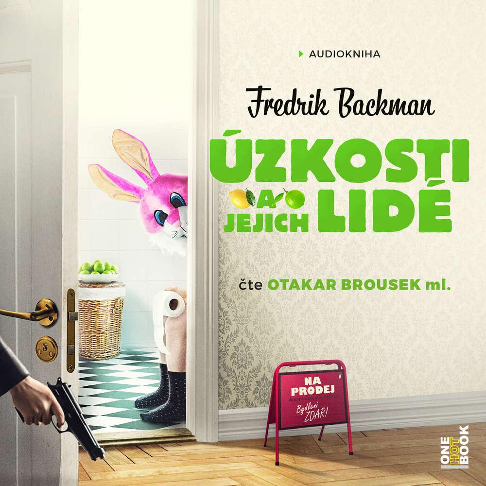 obal knihy - BACKMAN, Fredrik. Úzkosti a jejich lidé.