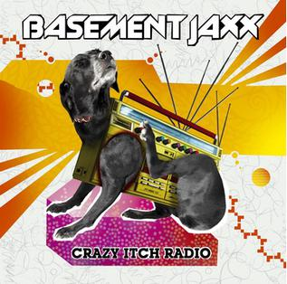 obal knihy - Crazy itch radio.