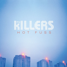 obal knihy - The Killers. Hot fuss.
