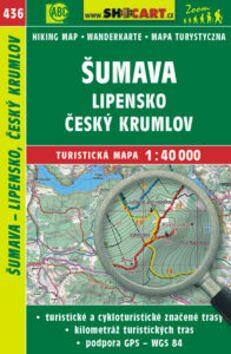 obal knihy - Šumava – Lipensko, Český Krumlov: turistická mapa: cykloturistická mapa: 1:40 000.